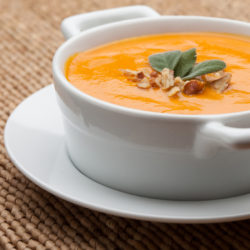 Nuts About Carrot Soup